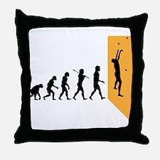 Wall Climber Throw Pillow