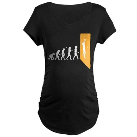 Wall Climber Maternity Dark T-Shirt
