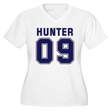 Hunter 09 Women's Plus Size V-Neck T-Shirt
