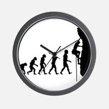 RockClimber06 Wall Clock