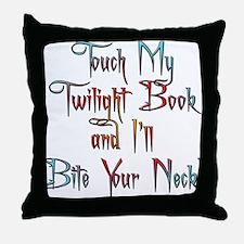 Fun Twilight Book Throw Pillow
