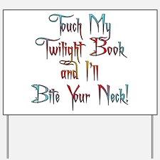Fun Twilight Book Yard Sign