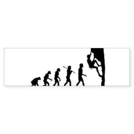 Rock Climber Bumper Sticker (10 pk)