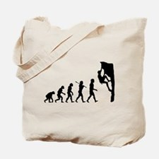 Rock Climber Tote Bag