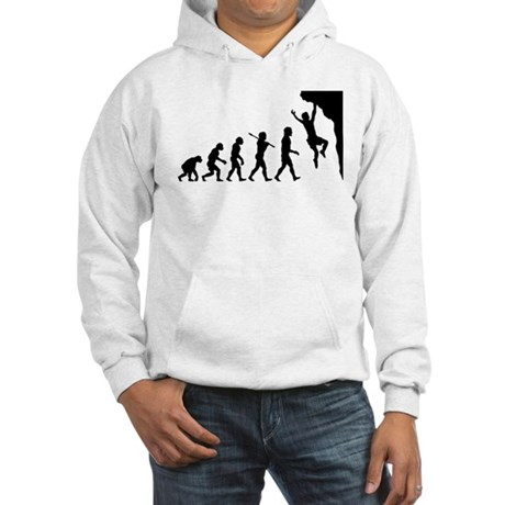 Rock Climber Hooded Sweatshirt