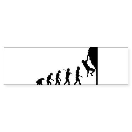 Rock Climber Bumper Sticker