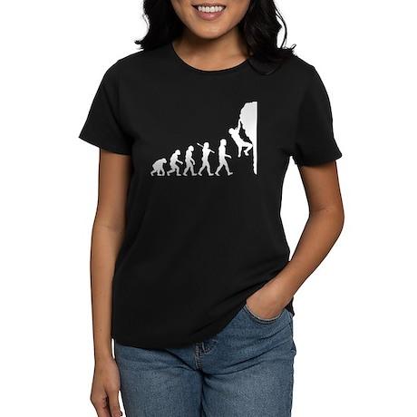 Rock Climber Women's Dark T-Shirt