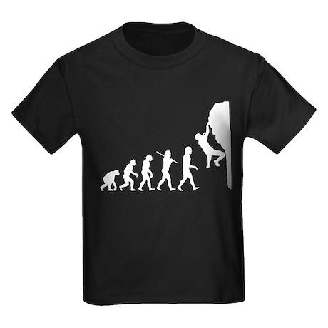 Rock Climber Kids Dark T-Shirt