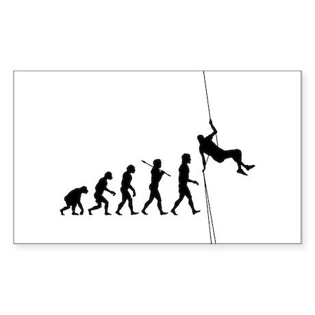 Rock Climber Rectangle Sticker