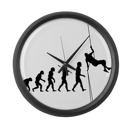 Rock Climber Large Wall Clock