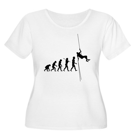 Rock Climber Women's Plus Size Scoop Neck T-Shirt
