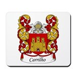Carrilho Family Crest Mousepad