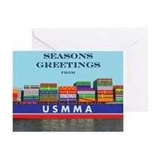 Gift Ship Greeting Card