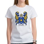 Carvalho Family Crest Women's T-Shirt
