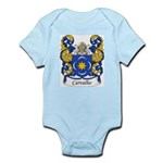 Carvalho Family Crest Infant Creeper