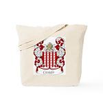 Casado Family Crest Tote Bag
