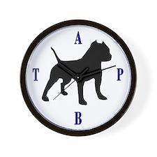 pit bull bully Wall Clock Wall Clock