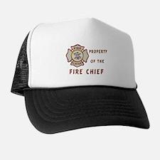 Fire Chief Property Trucker Hat
