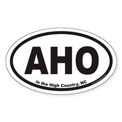 AHO Euro Oval Decal