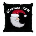 Santa 08Throw Pillow