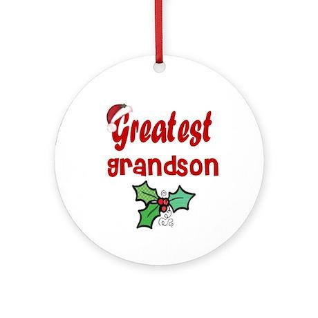 Greatest Grand Son Ornament (Round)