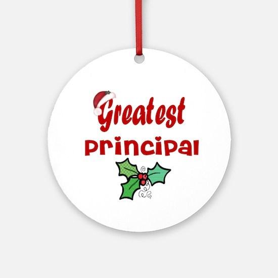 Greatest Principal Ornament (Round)