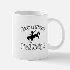 """Save Horse, Ride Virologist"" Mug"