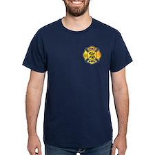 Fire Fighter Maltese T-Shirt