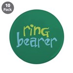 "Ring Bearer 3.5"" Button (10 pack)"