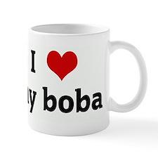 I Love my boba Small Mug