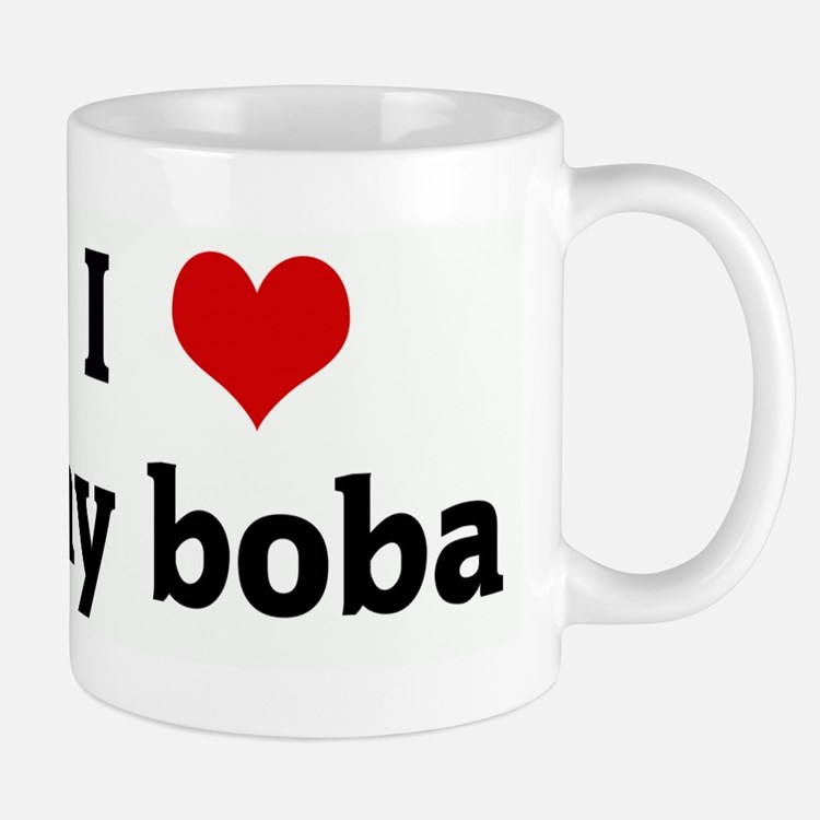 I Love my boba Small Small Mug