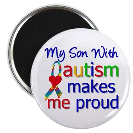 Autism Proud Ribbon Magnet