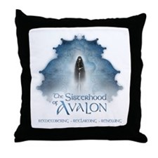 SOA Priestess Barge Throw Pillow