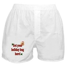 Get Your Holiday Hug!  Boxer Shorts