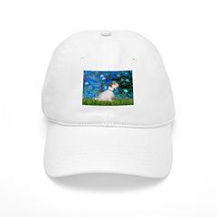 Lilies (#3) / Sealyham (L1) Baseball Cap
