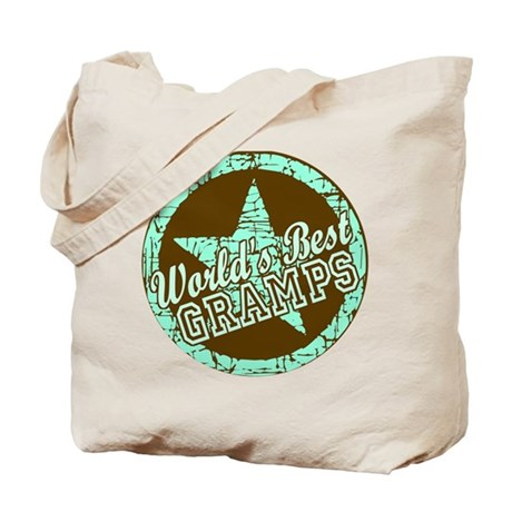 Worlds Best Gramps Tote Bag