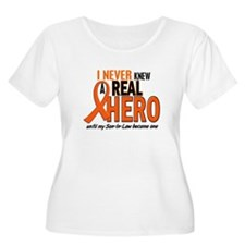 Never Knew A Hero 2 ORANGE (Son-In-Law) T-Shirt