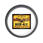 Moreno Valley Beer Wall Clock