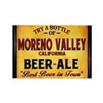 Moreno Valley Beer Rectangle Magnet (100 pack)