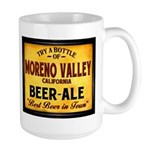 Moreno Valley Beer Large Mug
