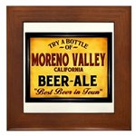 Moreno Valley Beer Framed Tile