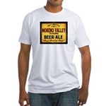 Moreno Valley Beer Fitted T-Shirt