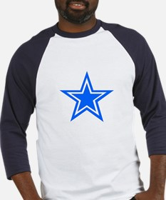 Blue Star Baseball Jersey