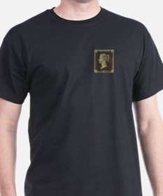 GB stamps Penny Black T-Shirt