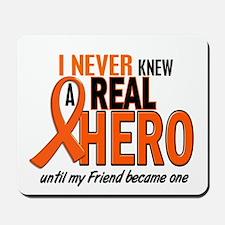 Never Knew A Hero 2 ORANGE (Friend) Mousepad