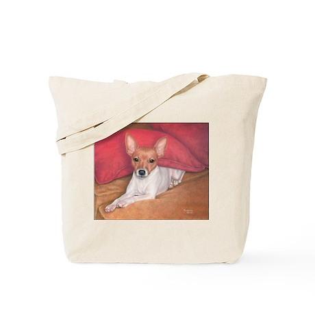 Toy Fox Terrier Tote Bag