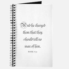 MARK 8:30 Journal