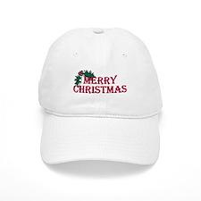 Merry Christmas Holly Cap