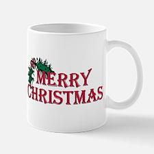 Merry Christmas Holly Mug
