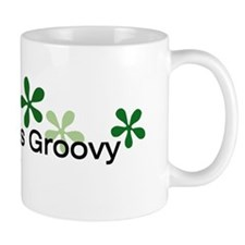 Green is Groovy Mug